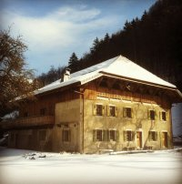 ❤¸¸.•*¨*•♫♪ Probably THE most unique ski chalet in the Alps ♪♫•