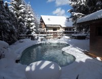 Large Alpine ski chalet with hot tub, sauna and swimming pool