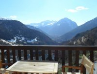 8 persons apartment in chalet with magnificent views